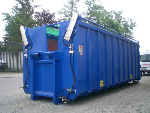 abdecksysteme f r abrollcontainer von garant containerbau. Black Bedroom Furniture Sets. Home Design Ideas